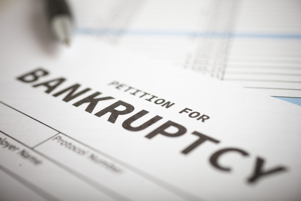 Business bankruptcy in Vancouver British Columbia